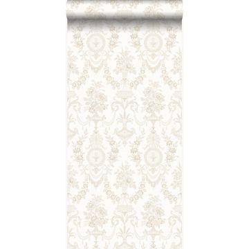 carta da parati ornamento bianco