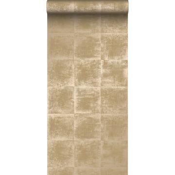 carta da parati struttura oro lucido chiaro