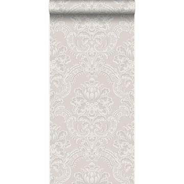 carta da parati ornamento grigio