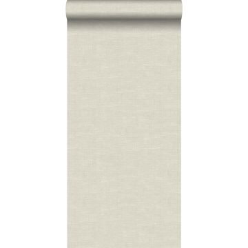 carta da parati struttura intrecciata beige chiaro