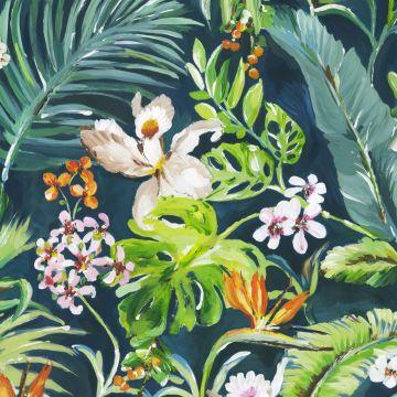 fotomurale tropicale verde