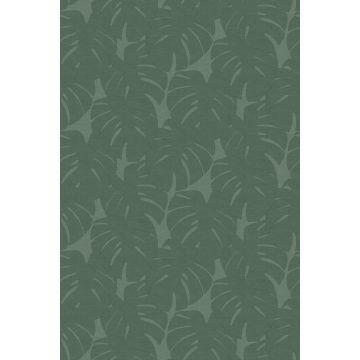 fotomurale foglie con struttura intrecciata verde