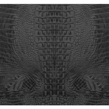 fotomurale pelle di coccodrillo nero