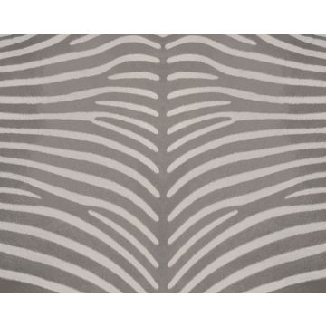 fotomurale effetto pelle zebrata grigio