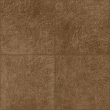 pannelli decorativi eco-pelle autoadesivi quadrato marrone cognac