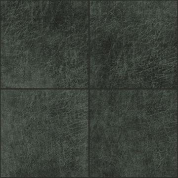 pannelli decorativi eco-pelle autoadesivi quadrato grigio antracite