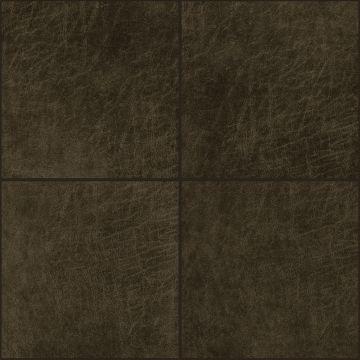 pannelli decorativi eco-pelle autoadesivi quadrato marrone scuro