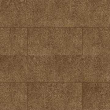 pannelli decorativi eco-pelle autoadesivi rettangolo marrone cognac