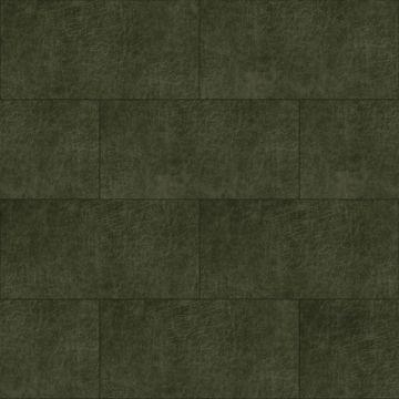 pannelli decorativi eco-pelle autoadesivi rettangolo verde oliva grigiastro