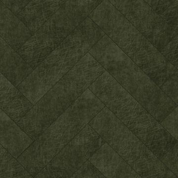 pannelli decorativi eco-pelle autoadesivi spina di pesce verde oliva grigiastro